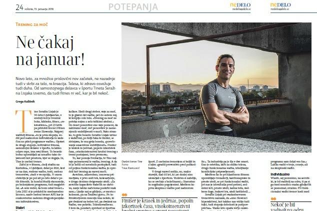 Intervju za časopis Nedelo